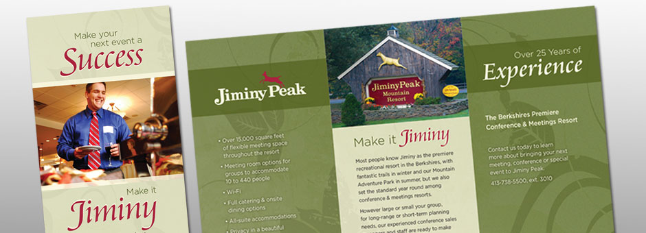 Jiminy Peak conference brochure